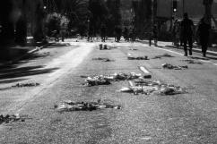 Nizza - Capisco solo in un secondo momento che i mazzi di fiori sono stati appoggiati dove erano i corpi delle persone travolte dal destino una calda e dolce sera di luglio, davanti al mare.