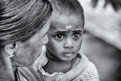 India del Sud - Gli occhi più grandi che io abbia mai visto.